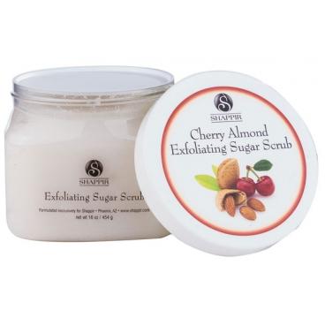 SHAPPIR Cherry Almond Exfoliating Sugar Scrub